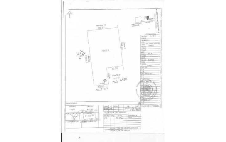Foto de terreno habitacional en venta en  , conkal, conkal, yucatán, 1093347 No. 17