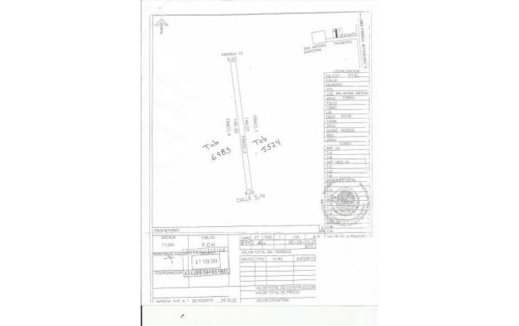 Foto de terreno habitacional en venta en  , conkal, conkal, yucatán, 1093347 No. 18