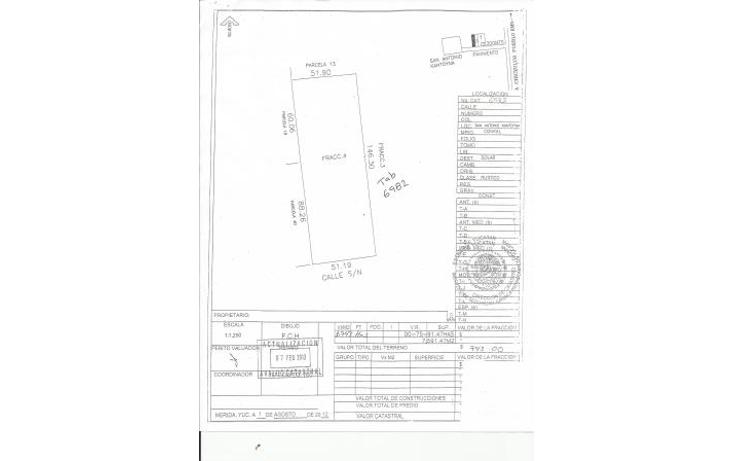 Foto de terreno habitacional en venta en  , conkal, conkal, yucatán, 1093347 No. 19