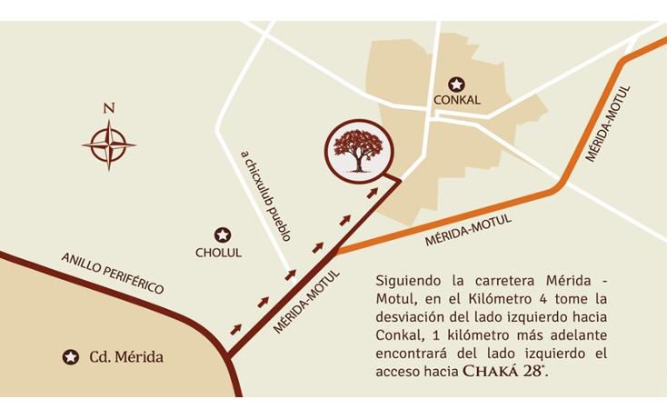 Foto de terreno habitacional en venta en  , conkal, conkal, yucatán, 1103891 No. 05