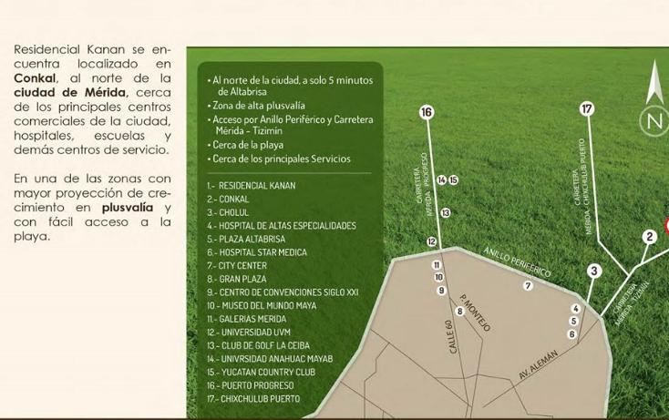 Foto de terreno habitacional en venta en  , conkal, conkal, yucatán, 1110505 No. 07