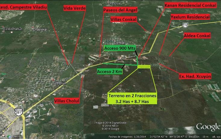 Foto de terreno habitacional en venta en  , conkal, conkal, yucatán, 1110603 No. 01