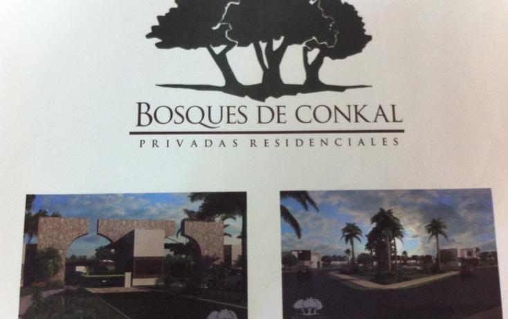 Foto de terreno habitacional en venta en  , conkal, conkal, yucatán, 1124063 No. 01
