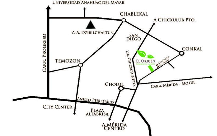 Foto de terreno comercial en venta en  , conkal, conkal, yucatán, 1127287 No. 03