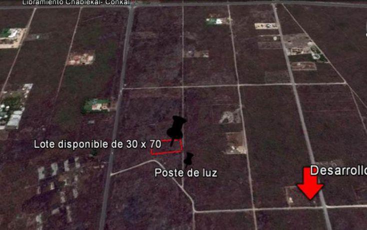 Foto de terreno habitacional en venta en, conkal, conkal, yucatán, 1128349 no 01