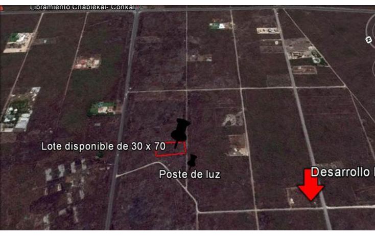 Foto de terreno habitacional en venta en  , conkal, conkal, yucatán, 1128349 No. 01