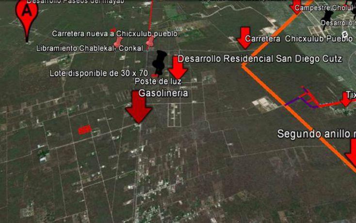 Foto de terreno habitacional en venta en, conkal, conkal, yucatán, 1128349 no 11