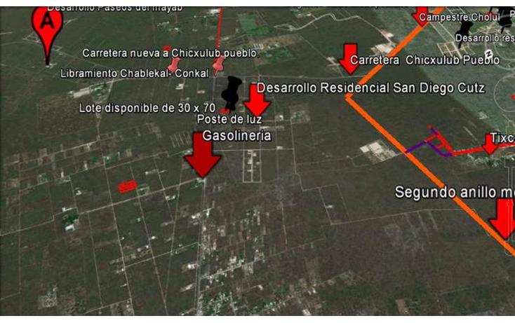 Foto de terreno habitacional en venta en  , conkal, conkal, yucatán, 1128349 No. 11