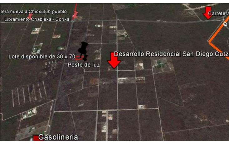 Foto de terreno habitacional en venta en  , conkal, conkal, yucatán, 1128349 No. 12