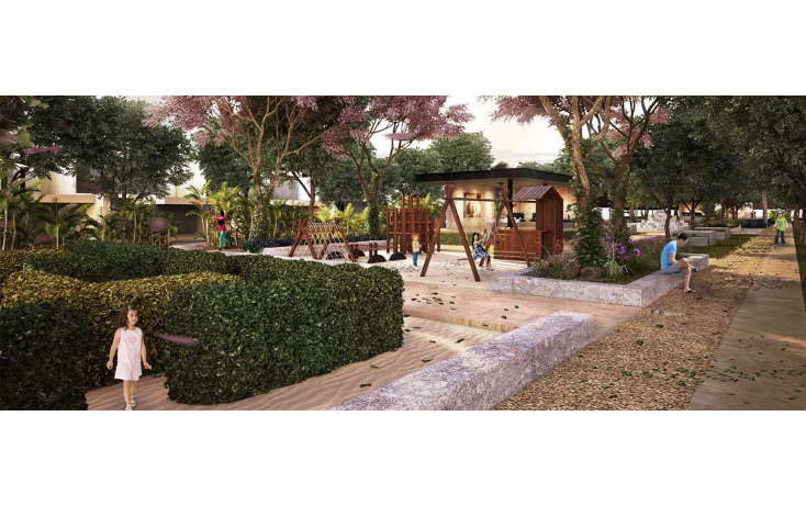 Foto de terreno habitacional en venta en  , conkal, conkal, yucat?n, 1140851 No. 01