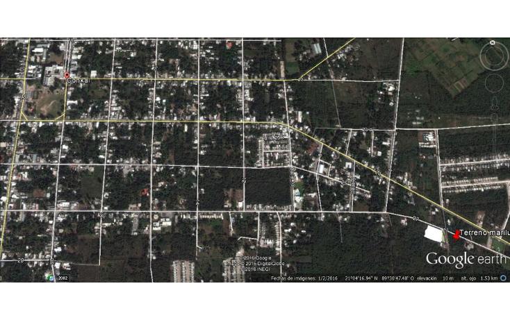 Foto de terreno habitacional en venta en  , conkal, conkal, yucat?n, 1144111 No. 04