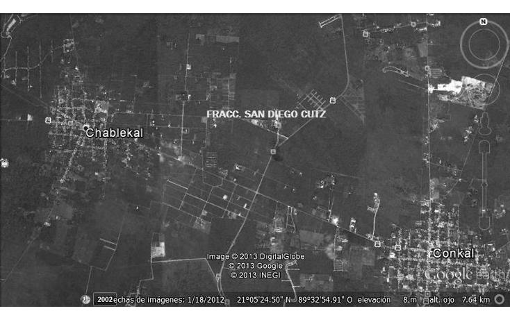 Foto de terreno habitacional en venta en  , conkal, conkal, yucatán, 1148389 No. 02