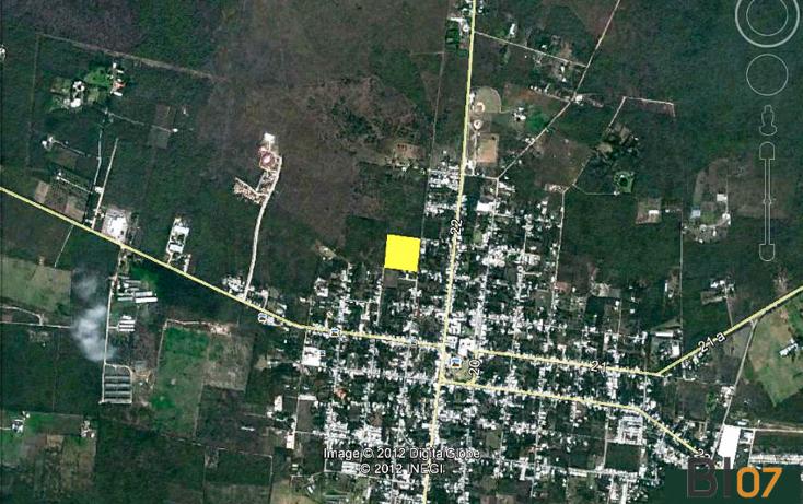 Foto de terreno habitacional en venta en  , conkal, conkal, yucatán, 1168663 No. 04