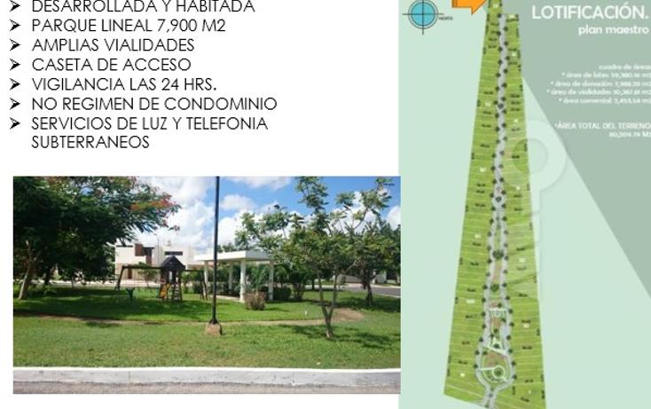 Foto de terreno habitacional en venta en  , conkal, conkal, yucatán, 1180987 No. 09