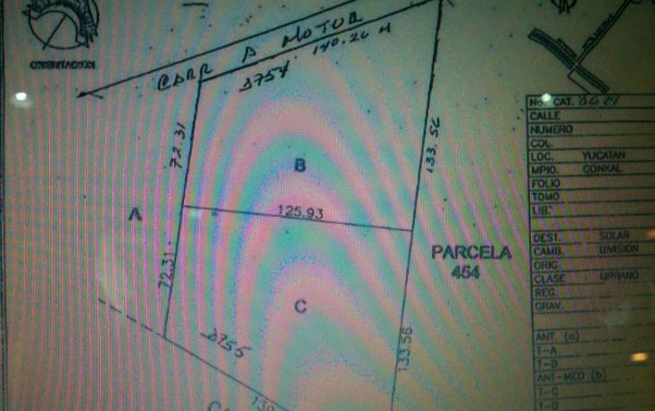 Foto de terreno habitacional en venta en  , conkal, conkal, yucatán, 1183139 No. 08