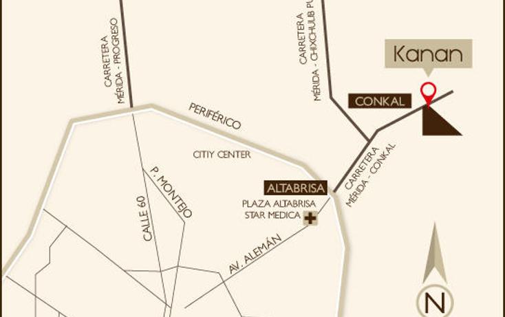 Foto de terreno habitacional en venta en  , conkal, conkal, yucatán, 1183203 No. 03