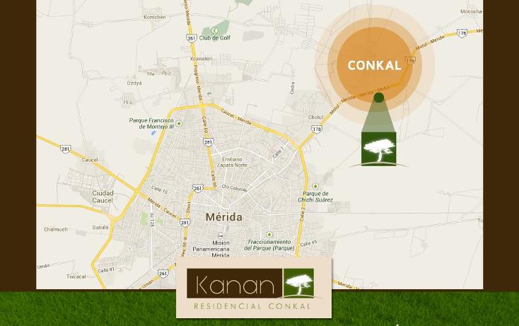 Foto de terreno habitacional en venta en  , conkal, conkal, yucatán, 1183203 No. 05