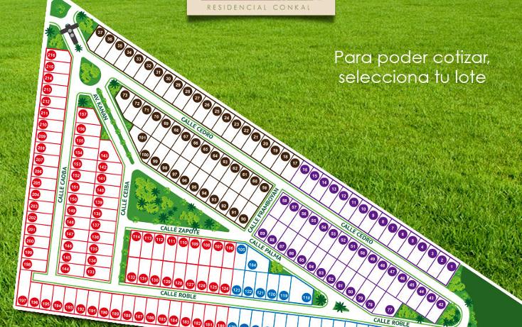Foto de terreno habitacional en venta en  , conkal, conkal, yucatán, 1183203 No. 18