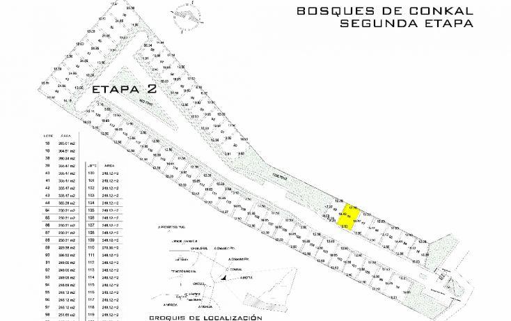 Foto de terreno habitacional en venta en, conkal, conkal, yucatán, 1202273 no 02