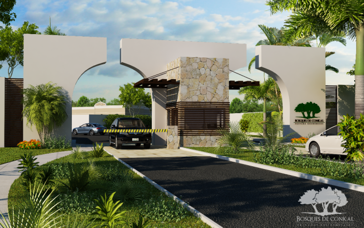Foto de terreno habitacional en venta en, conkal, conkal, yucatán, 1202273 no 03