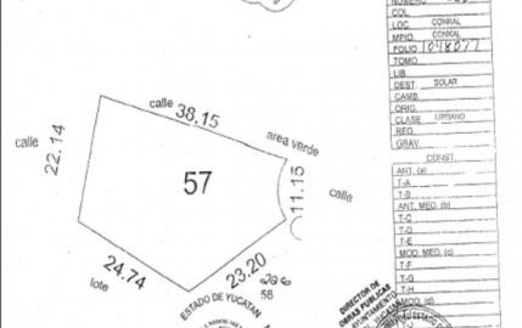 Foto de terreno habitacional en venta en, conkal, conkal, yucatán, 1225469 no 02