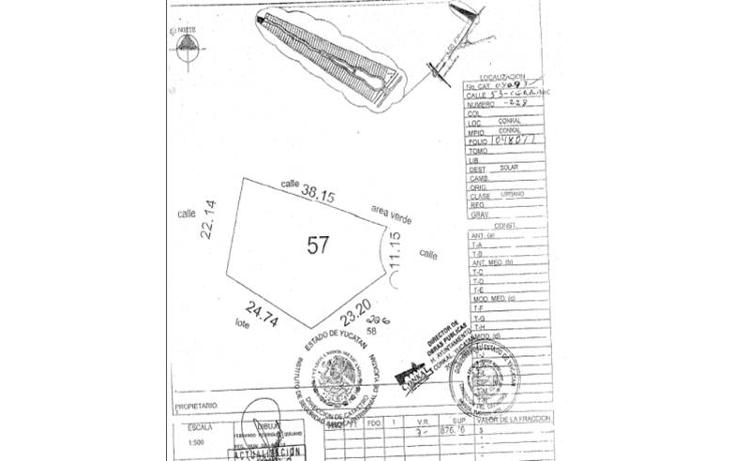 Foto de terreno habitacional en venta en  , conkal, conkal, yucat?n, 1225469 No. 02