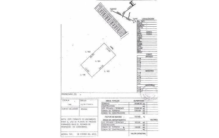 Foto de terreno habitacional en venta en  , conkal, conkal, yucatán, 1227129 No. 04