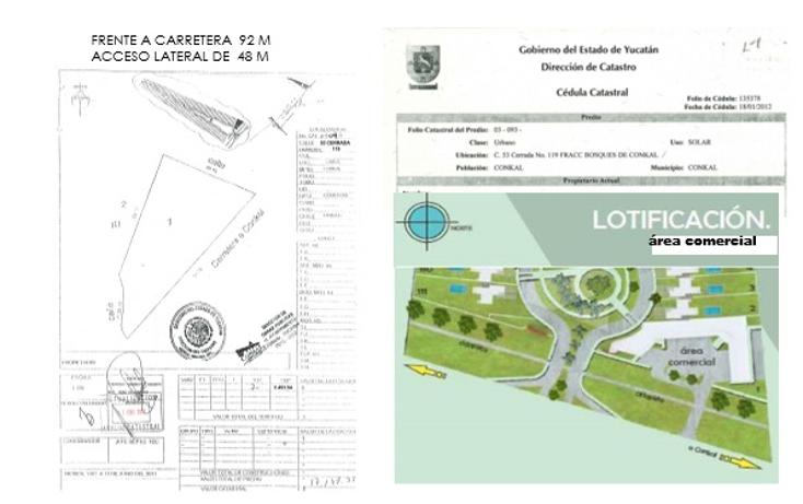 Foto de terreno comercial en venta en  , conkal, conkal, yucatán, 1238525 No. 08