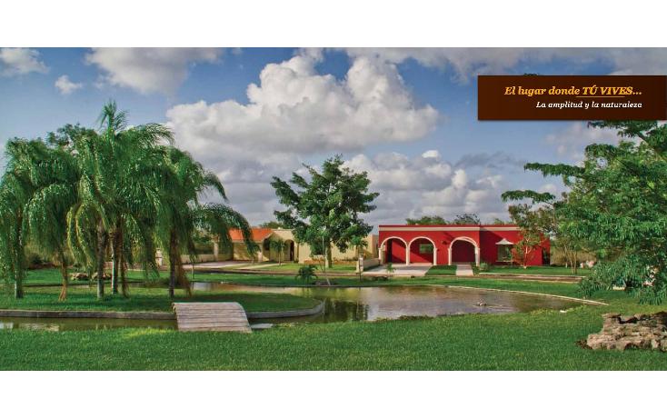 Foto de terreno habitacional en venta en  , conkal, conkal, yucatán, 1241419 No. 01