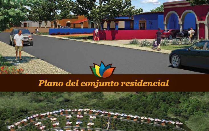 Foto de terreno habitacional en venta en  , conkal, conkal, yucatán, 1241419 No. 02
