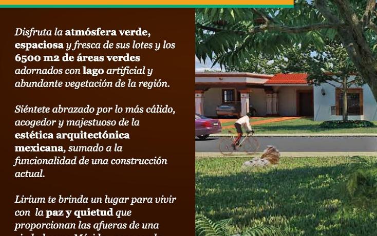 Foto de terreno habitacional en venta en  , conkal, conkal, yucatán, 1241419 No. 04