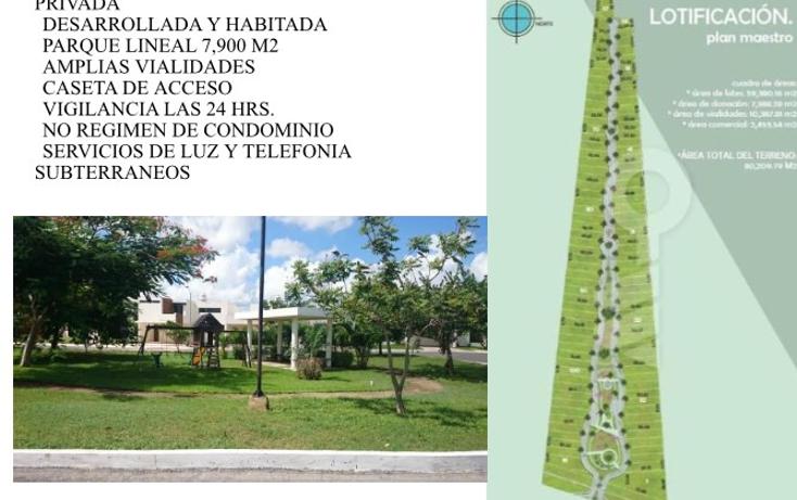 Foto de terreno habitacional en venta en  , conkal, conkal, yucatán, 1245145 No. 01
