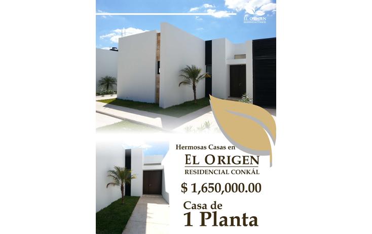 Foto de casa en venta en  , conkal, conkal, yucat?n, 1255067 No. 01