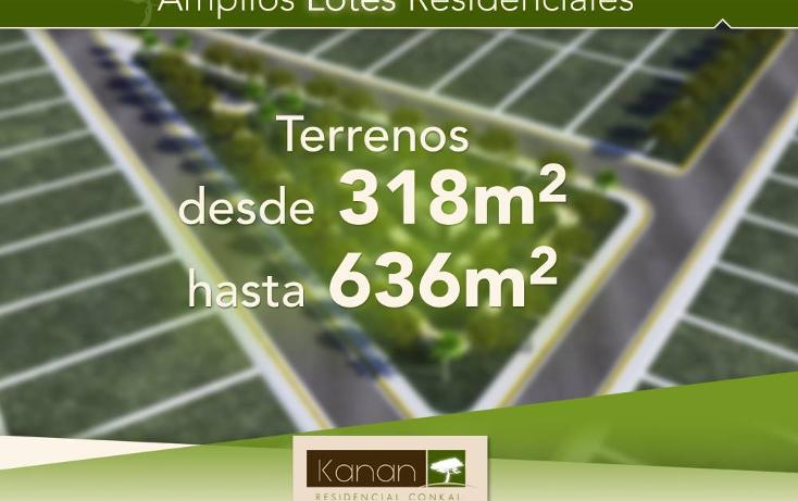 Foto de terreno habitacional en venta en  , conkal, conkal, yucatán, 1261199 No. 02