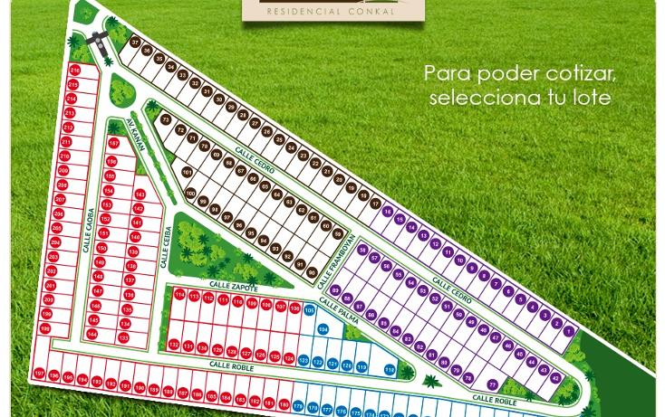 Foto de terreno habitacional en venta en  , conkal, conkal, yucatán, 1261199 No. 03