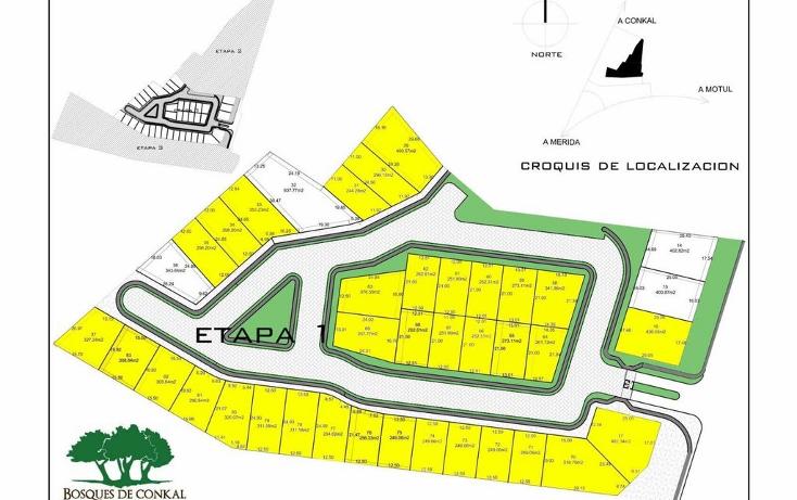 Foto de terreno habitacional en venta en  , conkal, conkal, yucatán, 1261641 No. 06