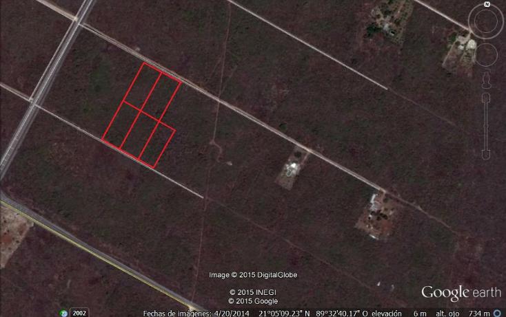 Foto de terreno habitacional en venta en  , conkal, conkal, yucatán, 1269075 No. 01