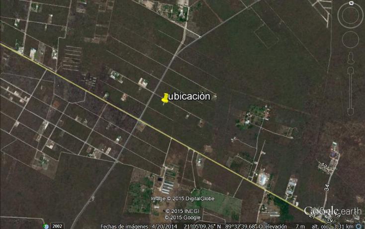 Foto de terreno habitacional en venta en  , conkal, conkal, yucatán, 1269075 No. 02