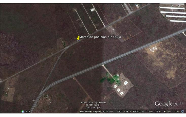 Foto de terreno habitacional en venta en  , conkal, conkal, yucatán, 1270775 No. 02