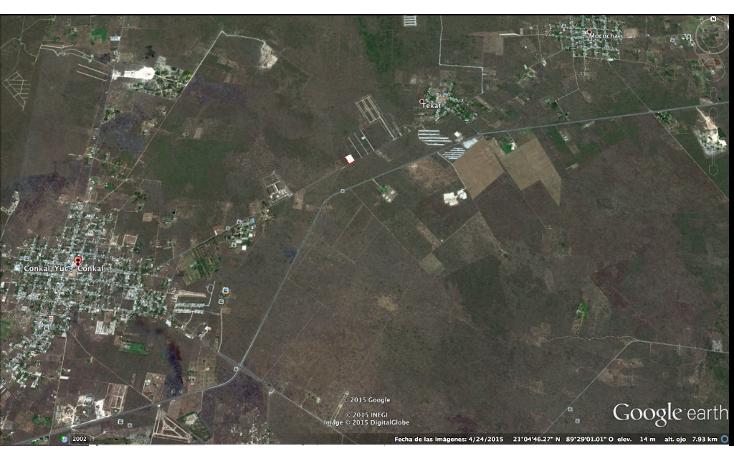 Foto de terreno habitacional en venta en  , conkal, conkal, yucat?n, 1270775 No. 04