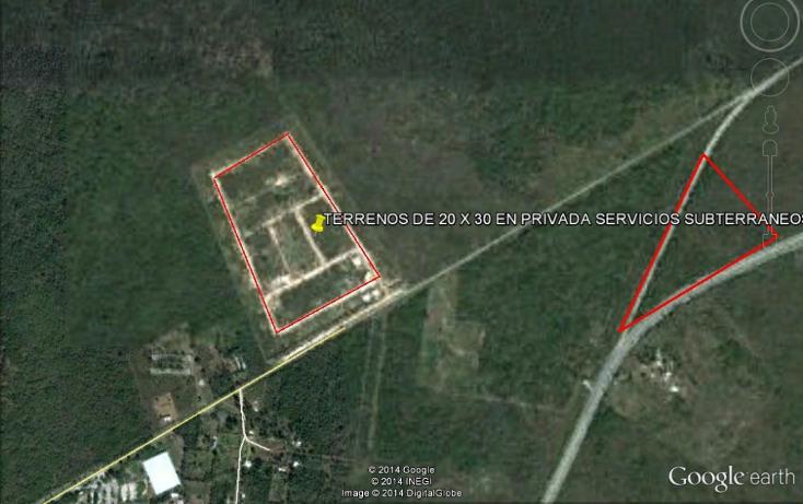 Foto de terreno habitacional en venta en  , conkal, conkal, yucatán, 1278047 No. 01