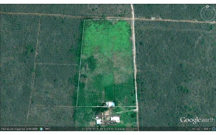 Foto de terreno habitacional en venta en, conkal, conkal, yucatán, 1279841 no 02