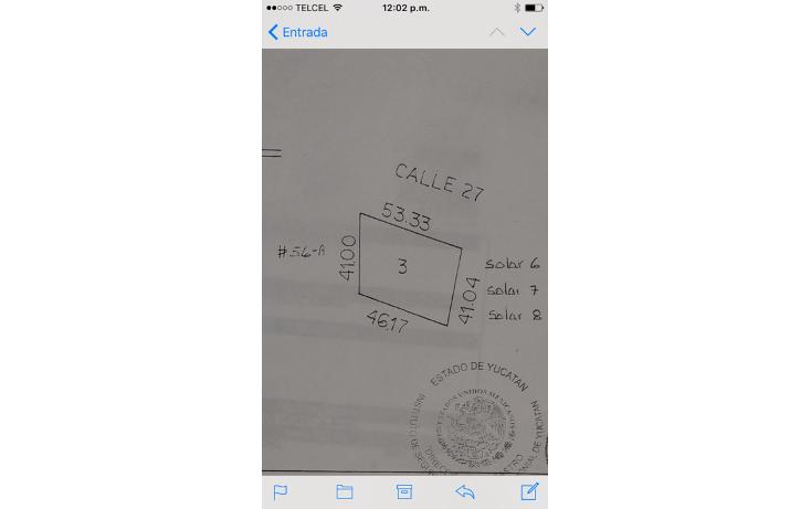 Foto de terreno habitacional en venta en  , conkal, conkal, yucat?n, 1280817 No. 01
