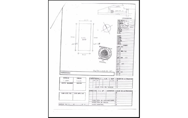 Foto de terreno habitacional en venta en  , conkal, conkal, yucatán, 1284385 No. 01