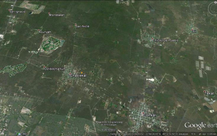 Foto de terreno habitacional en venta en, conkal, conkal, yucatán, 1285889 no 02