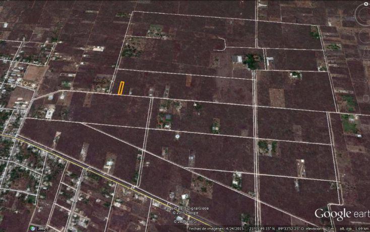 Foto de terreno habitacional en venta en, conkal, conkal, yucatán, 1285889 no 03