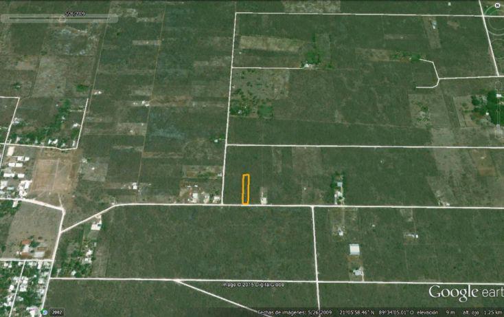 Foto de terreno habitacional en venta en, conkal, conkal, yucatán, 1285889 no 04