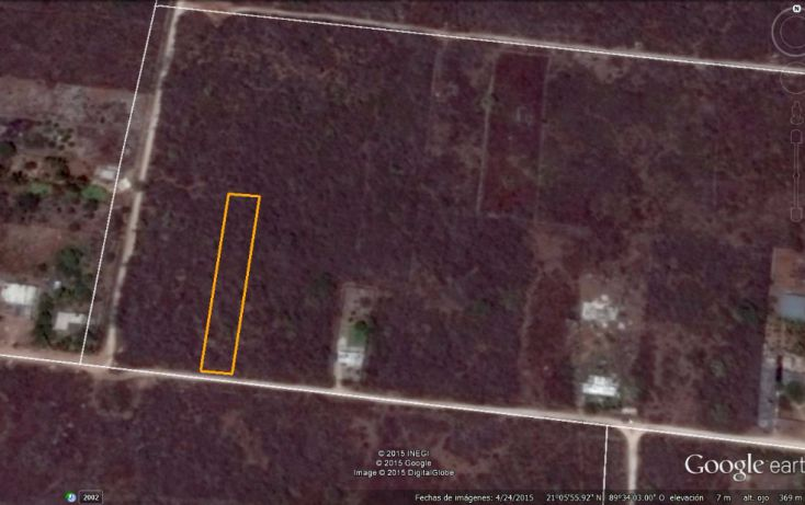 Foto de terreno habitacional en venta en, conkal, conkal, yucatán, 1285889 no 05