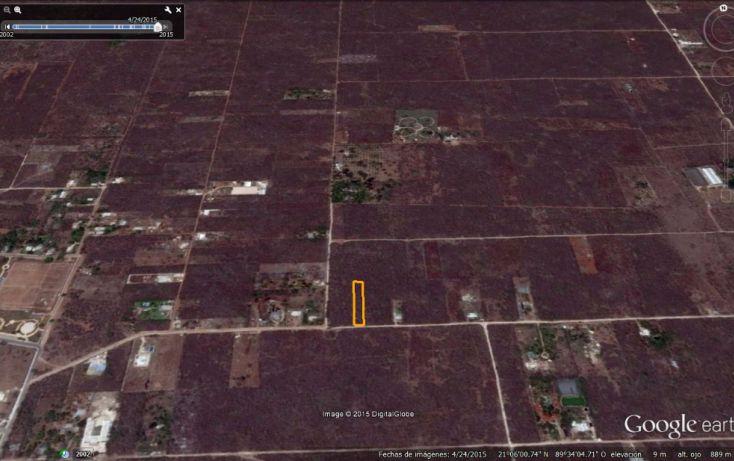 Foto de terreno habitacional en venta en, conkal, conkal, yucatán, 1285889 no 08
