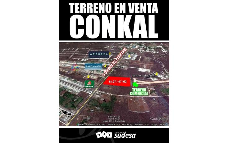 Foto de terreno habitacional en venta en  , conkal, conkal, yucatán, 1287291 No. 01